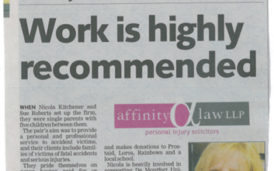 Affinity Law shortlisted for Law Firm of the Year